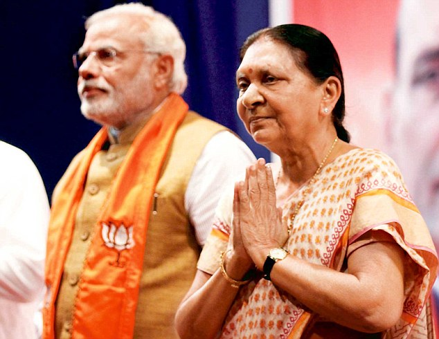 PM Modi meets Gujarat CM to examine drought situation in state