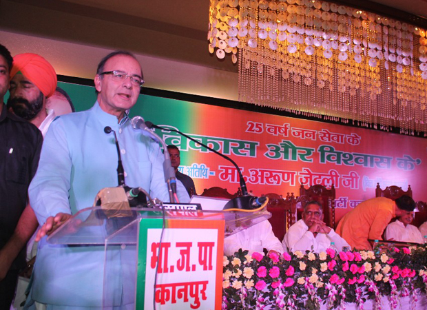 BJP on all-time-high, Congress on all-time-low: FM Jaitley