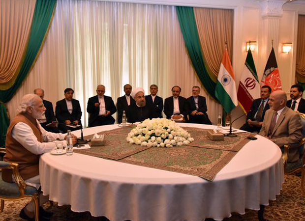 Modi inks 12 pact with Iran: Rouhani calls it Day of Chabahar