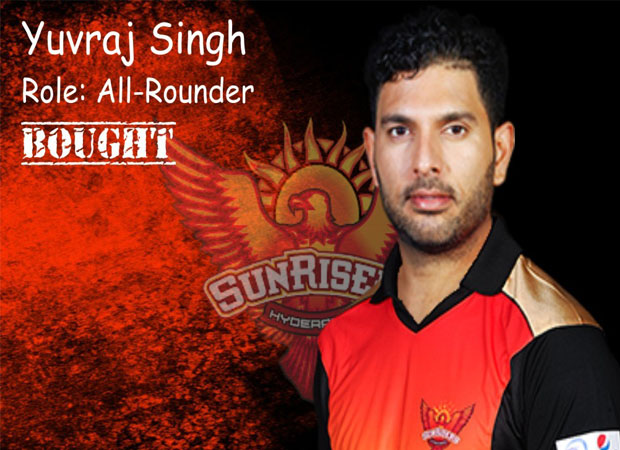 Yuvi all set to debut for Sunrisers Hyderabad tonight