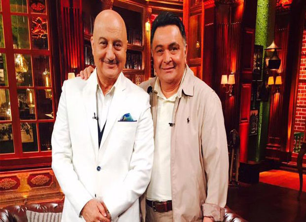 Anupam Kher supports Rishi Kapoor over his controversial tweet