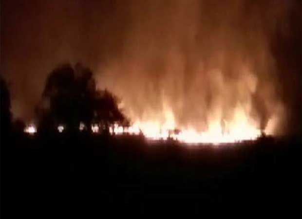 Two officers among 20 killed in major fire in Ammunition Depot