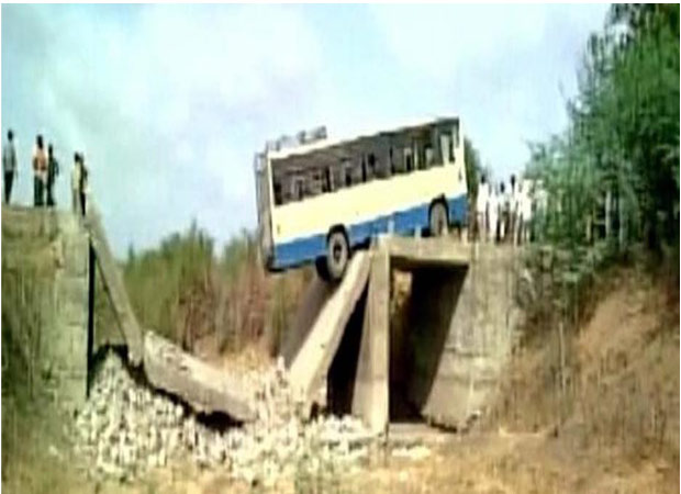 Miraculous escape: 25 passengers saved after bridge collapsed
