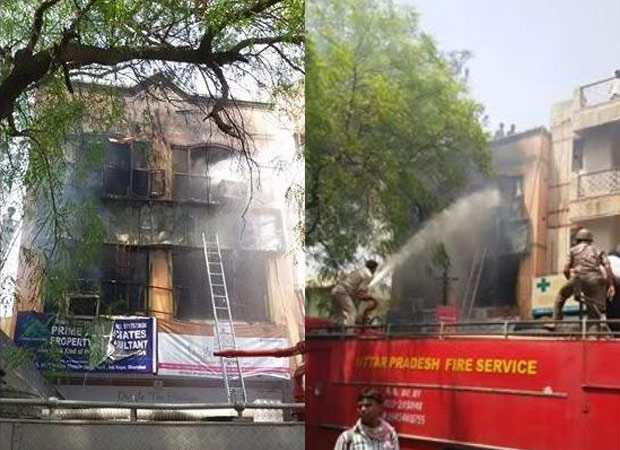 Five killed in  fire at India Mart office in Ghaziabad