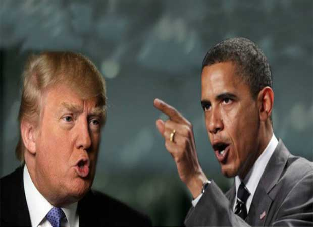 US President Barack Obama lashes out at Donald Trump