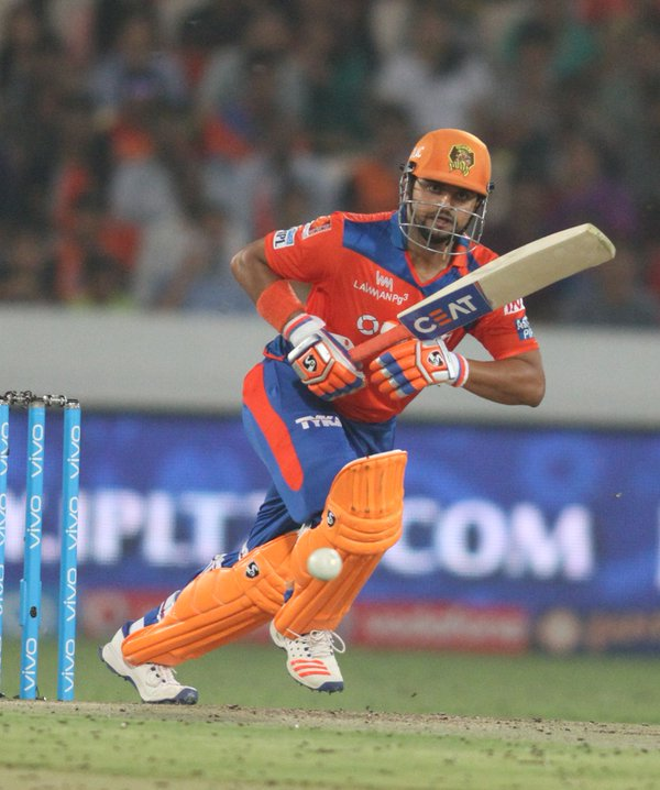 Suresh Raina guides GL win by 6 wickets against KKR