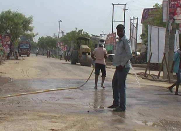 Gallons of water wasted for Akhilesh Yadav event in Barabanki