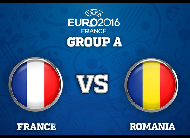 UEFA Euro Cup 2016: France Vs Romania Live Streaming on SonyLIV