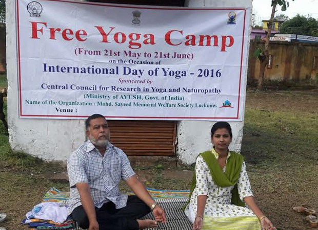 International Yoga Day: AIMPLB opposes, a Muslim couple disposes