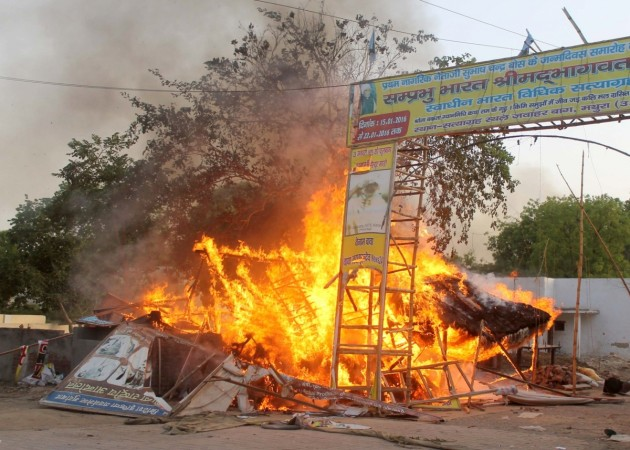 Has  Mathura madness which killed 24 unnerved the government?