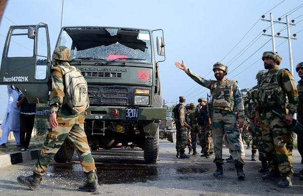 Eight CRPF men killed and 24 injured by terrorists in J&K
