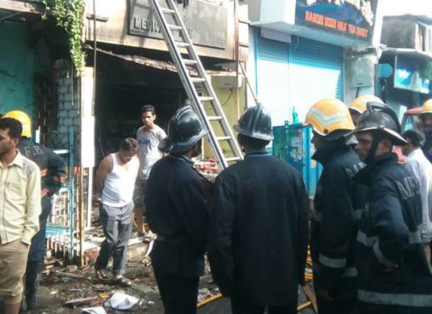 Fire breaks at medical store, eight killed