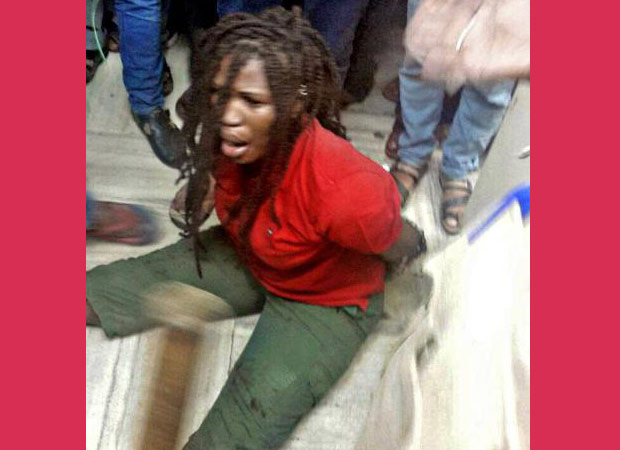 Nigerian woman physically pinned down by cops in Bengaluru