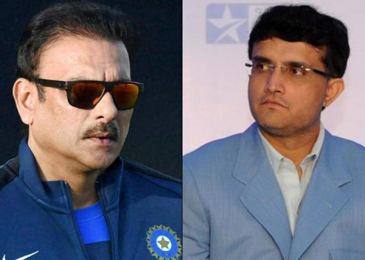 Ganguly counter-attacks Shastri, says comments were personal
