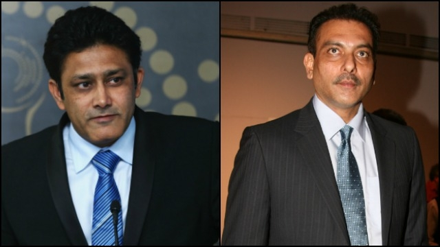 Called Shastri immediately after becoming Indias coach: Kumble