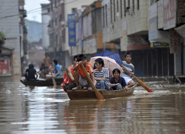 China faces worst ever downpour; over 75 dead or missing