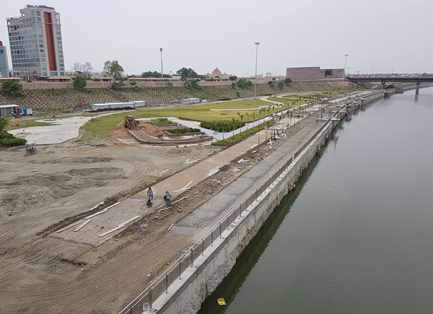 It rains money for Gomti River Front project amid apprehensions