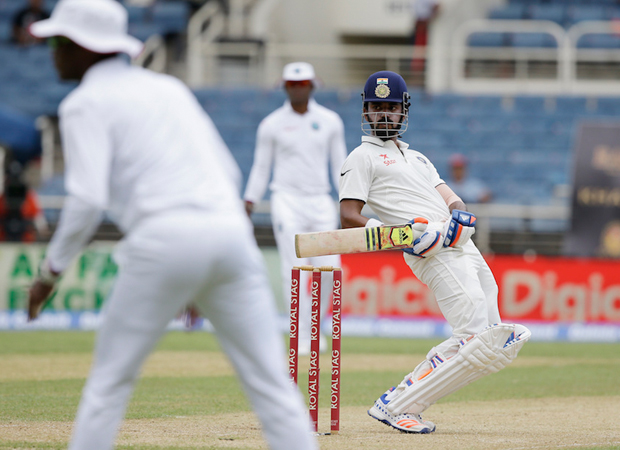 WI Vs Ind: Rahul hits 3rd Test century on day 2 of first match