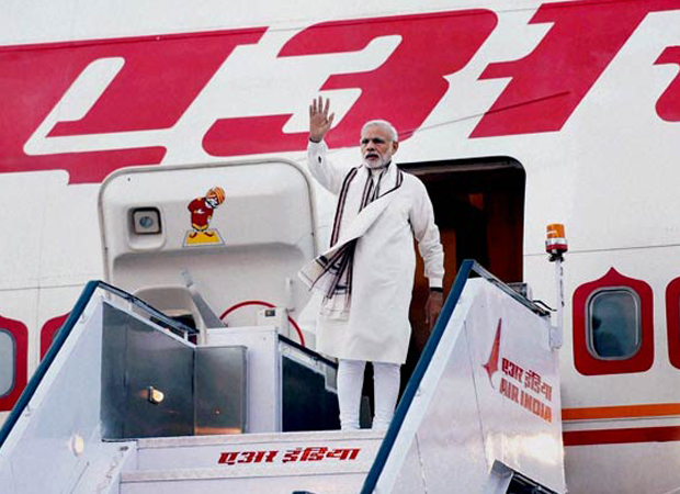 PM Modi lands in South Africa; receives warm welcome