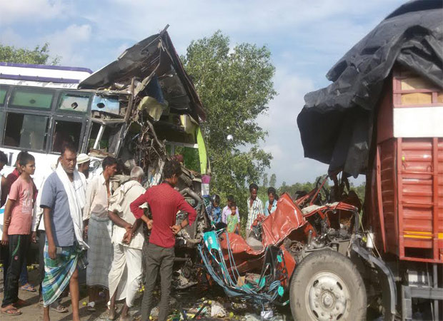 Road accident claims four lives including a child in Bahraich