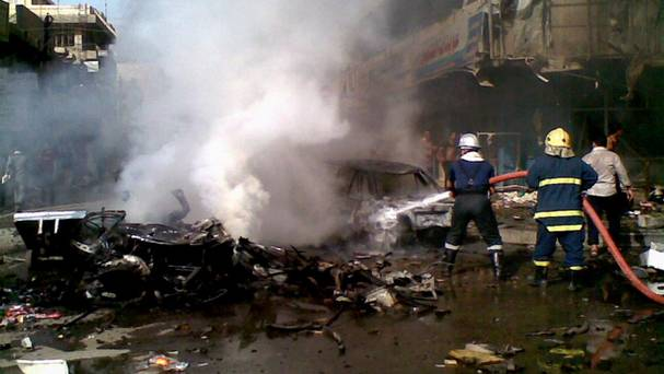 35 killed, 70 injured in suicide bombers attack in Iraq