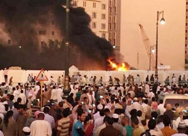 Blasts near Mosque in Medina, two other Saudi cities