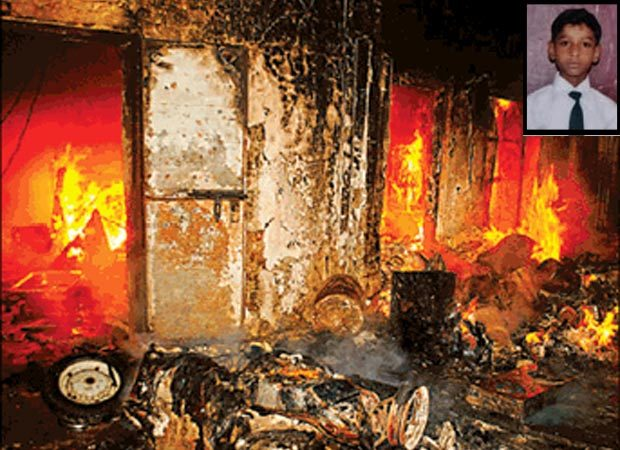 Abducted boy killed, angry mob torches accuseds house