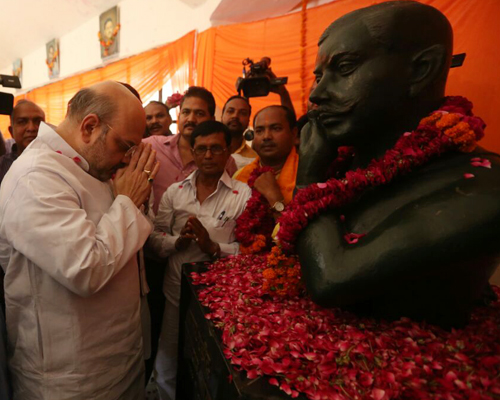 Uttar Pradesh is unfortunate to be ruled by SP, BSP: Amit Shah