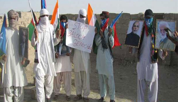 Indian tricolor, posters of PM Modi raised in Pakistan