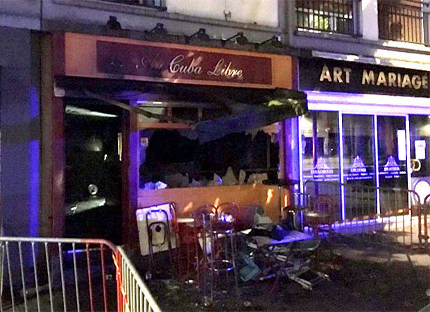 Thirteen burnt alive in a bar in French city of Rouen