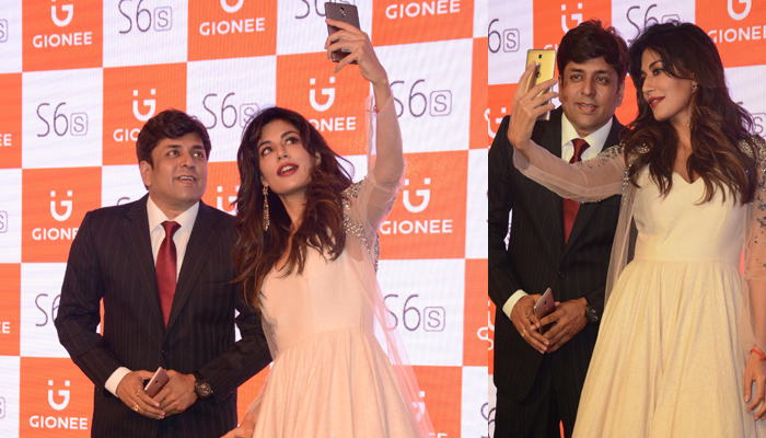 Chitrangada Singh unveils Gionee S6s smartphone in Lucknow