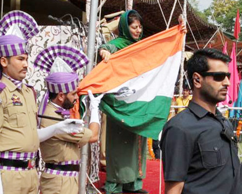 Inquiry ordered after CM Mufti failed to hoist flag on I-Day