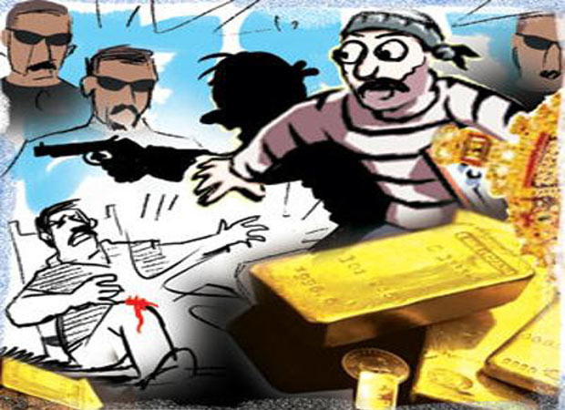 Another crime on NH-91, armed robbers loot a bus in Hathras