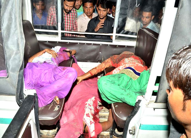 10 women including five minors killed in road accident in UP