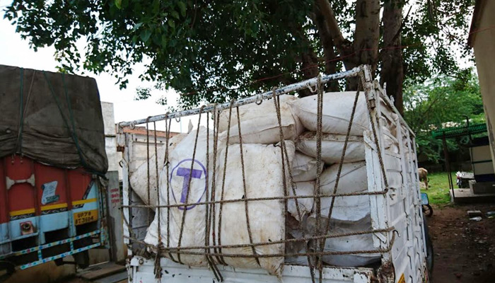 ATS seizes 100 sacks full of explosive in Jhansi; four arrested