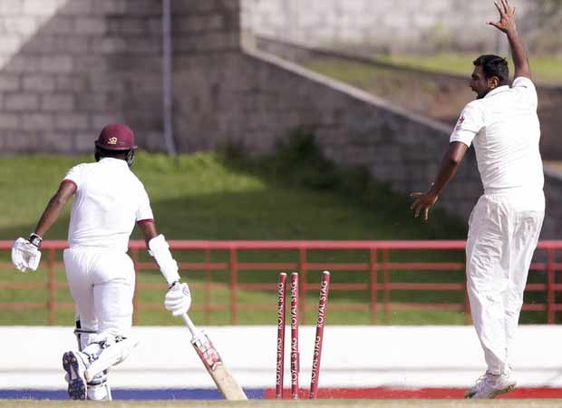 West Indies makes a comeback in third test match against India