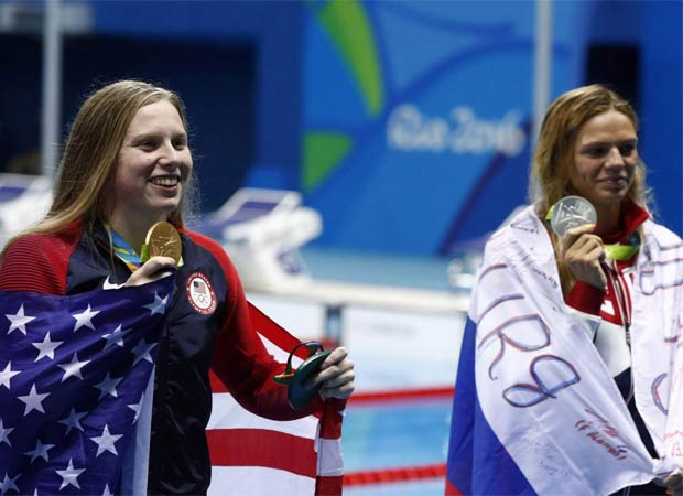 Rio 2016: Lilly King apologises to Yulia for not wishing her