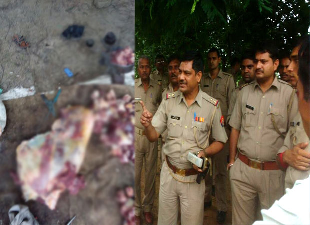 Beef traders attack police in Meerut village, four held