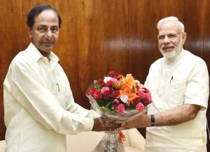 PM Narendra Modi launches projects in 2-year old Telangana