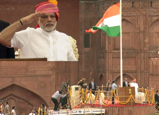 PM Narendra Modi takes a dig at Pakistan in his Independece Day address
