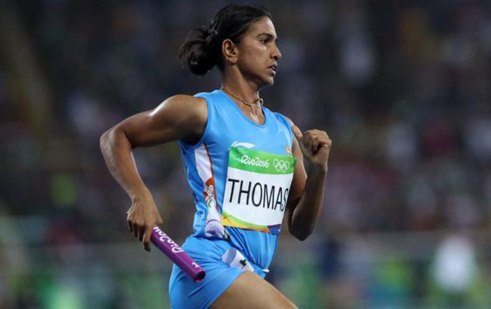Rio 2016: India out of women's 4x400m relay in Olympics