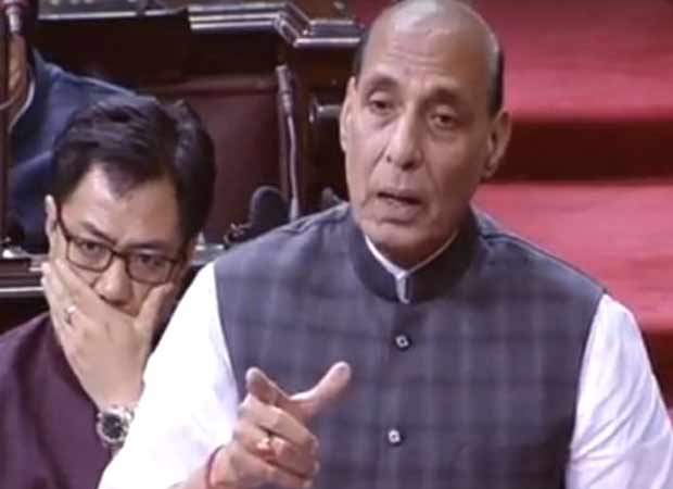 No power can separate Kashmir from India, says Rajnath in RS