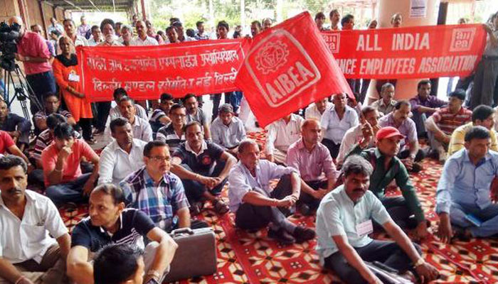 Saying no to 42% hike, trade unions to go ahead with nationwide strike