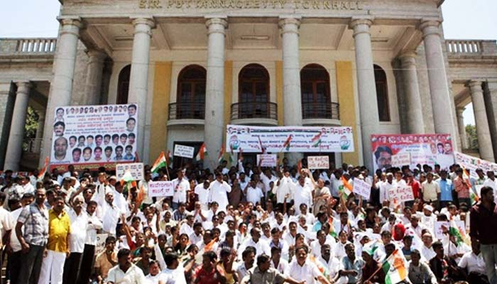 Cauvery issue: Heavy protests in Karnataka following SC order