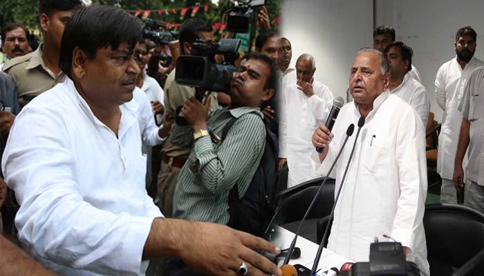 Compromise formula works out, Prajapati to be back in UP cabinet