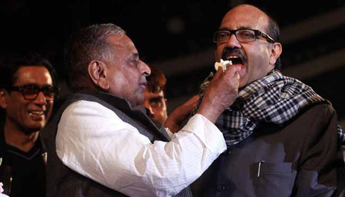 Amar Singh appointed SP General Secretary, giving a blow to Akhilesh