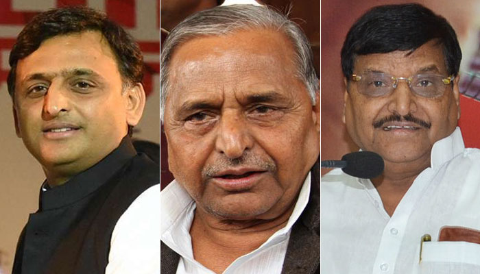 Drama in UP is  yet to be over , Mulayam holds the key