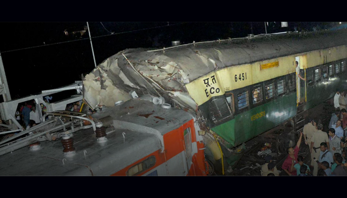 Passenger train rams into goods train in Cuttack; One dead