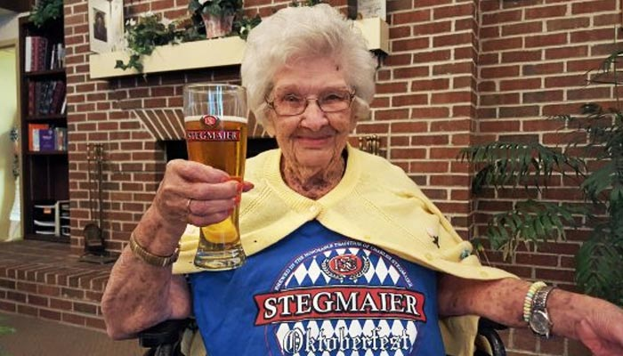 Story of a regular drinker who has lived for more than 100 years