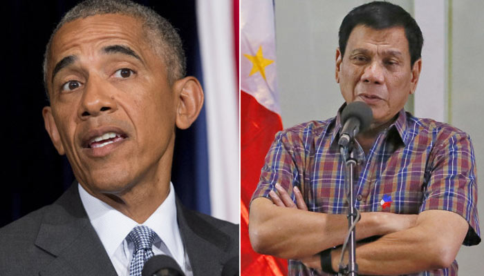 Obama cancels bilateral talks with Philippines, Duterte apologises